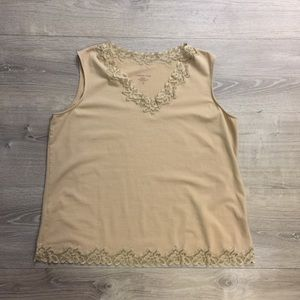 ColdWater Creek Sleeveless Top